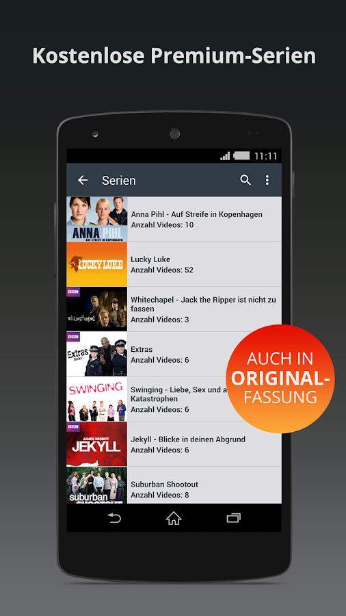 Clipfish: TV, Filme & Musik - screenshot
