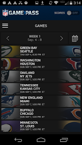 NFL Game Pass screenshot 2