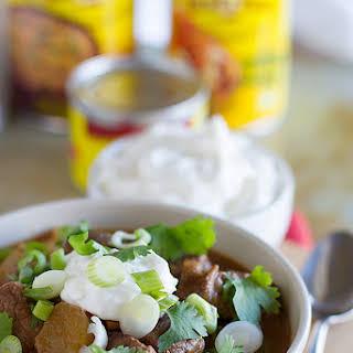 Slow Cooker Enchilada Beef Stew.