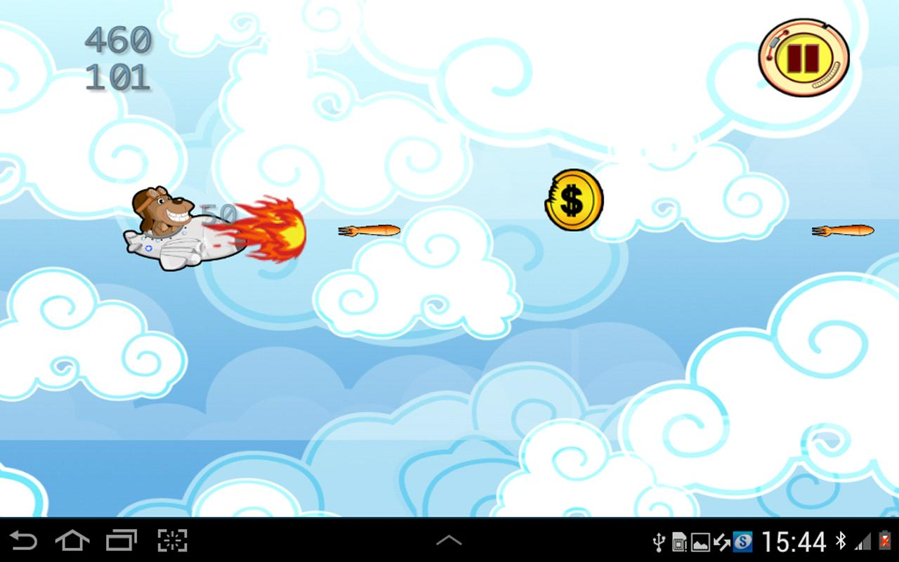 Monkey Airplane Pilot - screenshot