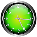 3D Glow 2 Analog Clock Widget