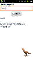 Screenshot of Thesaurus Deutsch