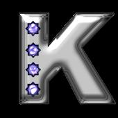 Bling-bling K-monogram
