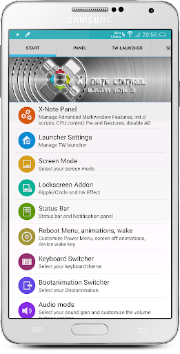 new X-Note Control Note3