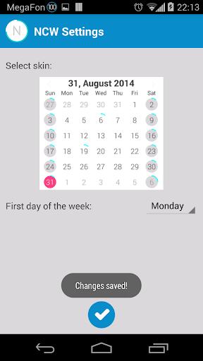 【免費個人化App】Neon Calendar Widget-APP點子