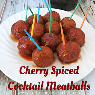 Cherry Spiced Meatballs