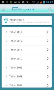 Ridwan Kamil Untuk Bandung 1 - screenshot thumbnail