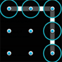 Pattern Unlock Screen mobile app icon