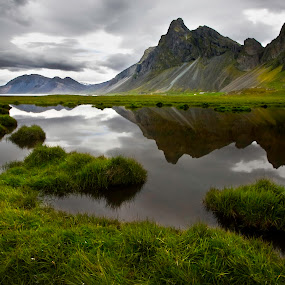 Eystrahorn in Iceland by Brynjar Ágústsson - Landscapes Mountains & Hills ( landslag, nordic-countries, eystrahorn, travel, landscape, wilderness, iceland, nature, snow, outdoor, southeast iceland, ísland, summer, scenery, suðausturland, landscapes )