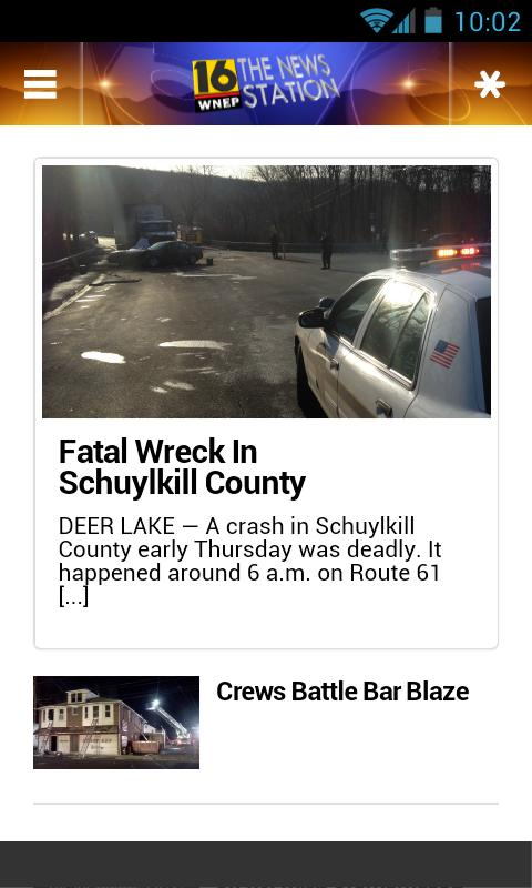 WNEP Newswatch 16 - screenshot
