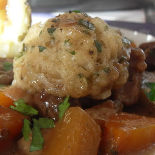 Beef Stew With Herbed Dumplings