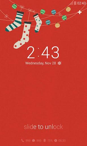 X-Mas Gift Dodol Locker Theme