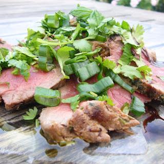 "Beef ""Chiffonade"" with Herbs."