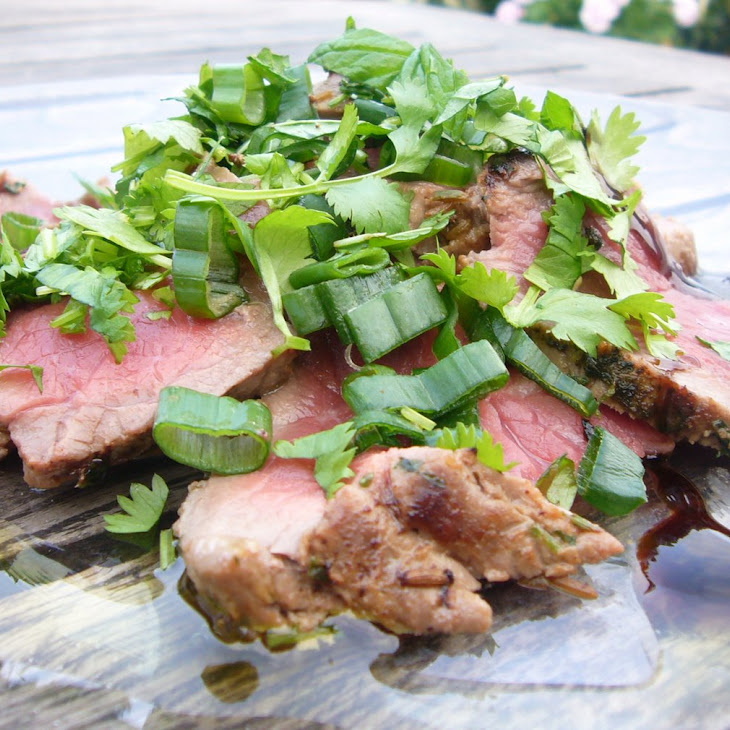 "Beef ""Chiffonade"" with Herbs"