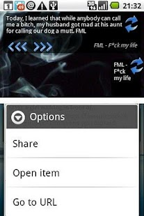 FML F*ck my life + widget- screenshot thumbnail