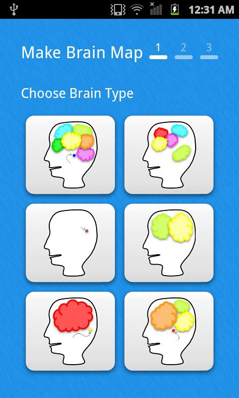 My Brain Map Free for Facebook - screenshot