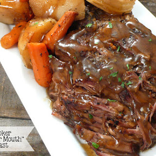 "Slow Cooker ""Melt in Your Mouth"" Pot Roast."