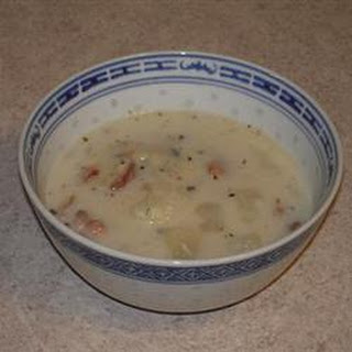 Parmesan Potato Soup