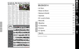 Screenshot of The Tribune-Democrat