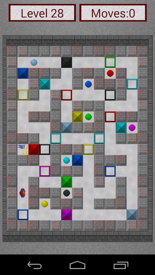 Mazinator: maze game - screenshot