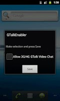 Screenshot of Enable Video Chat over 3G/4G