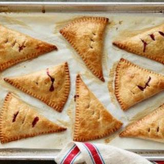 Raspberry-Peach Hand Pies