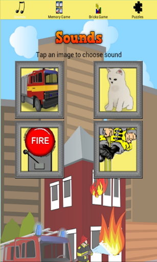 Fireman Activity App for Kids