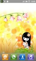 Screenshot of Dreams of Daffodils LWP