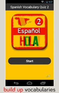 Spanish Vocabulary Quiz 2 - screenshot thumbnail