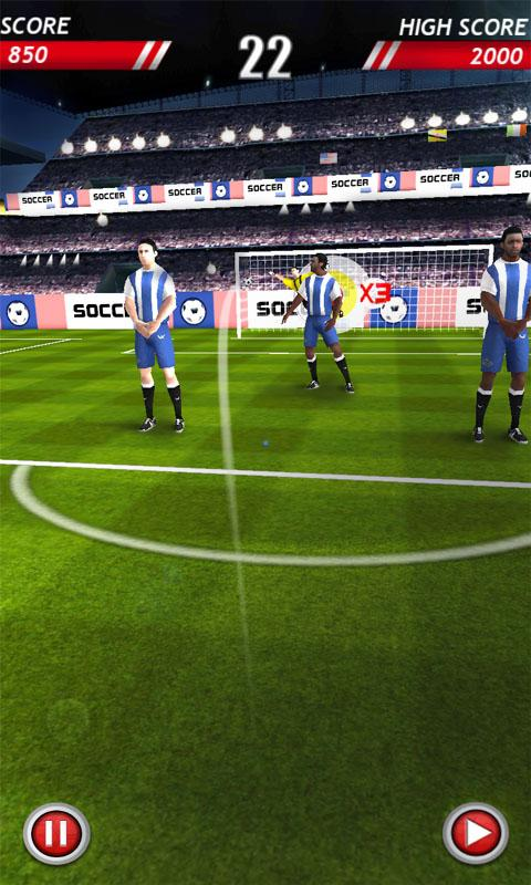 Soccer Kicks (Football) - screenshot