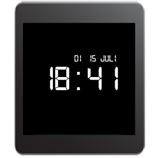 Retro LCD Wear Watchface - screenshot thumbnail