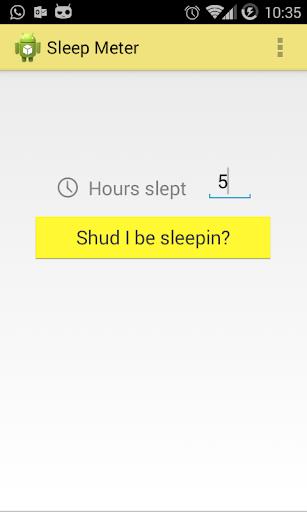 Sleep Meter