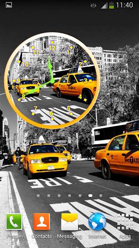無料个人化Appのニューヨーク クロック ウィジェット|記事Game