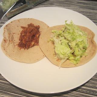 Shredded Turkey Tacos.