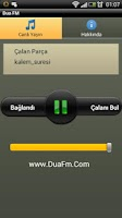 Screenshot of Dua FM iLahi Radyosu