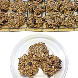 Oatmeal Apple Banana Raisin Cookies.