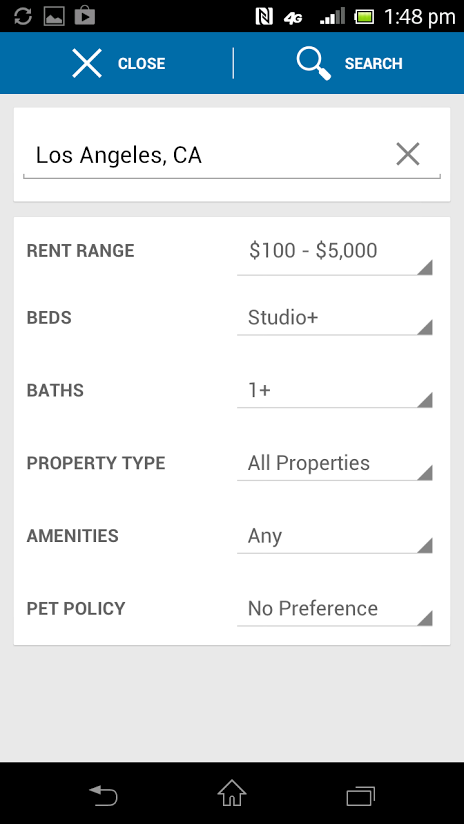 Apartments by Rent.com - screenshot