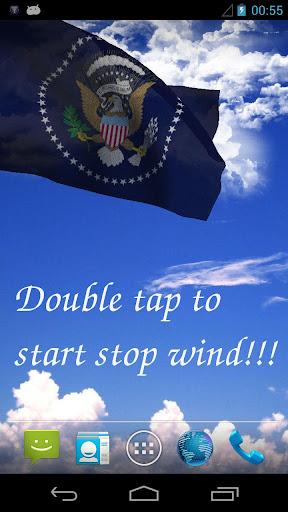 US President Flag Free