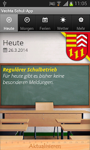 Vechta Schul-App - screenshot thumbnail
