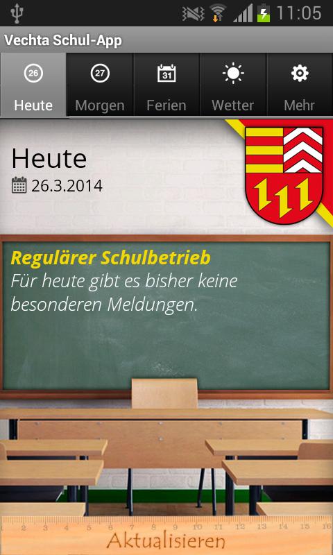 Vechta Schul-App- screenshot