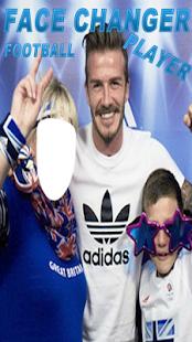 Face Changer Football Player
