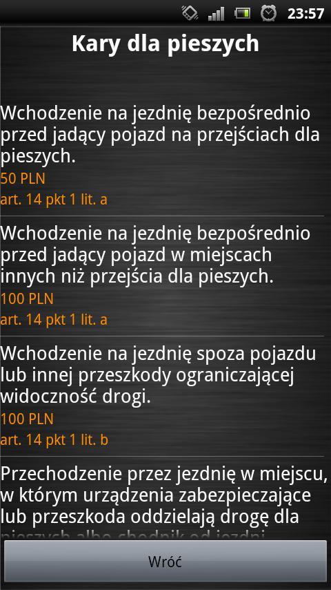 Taryfikator Mandatów 2014 PRO- screenshot