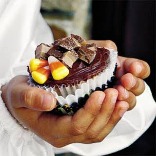 Heavenly Candy Bar Cupcakes.