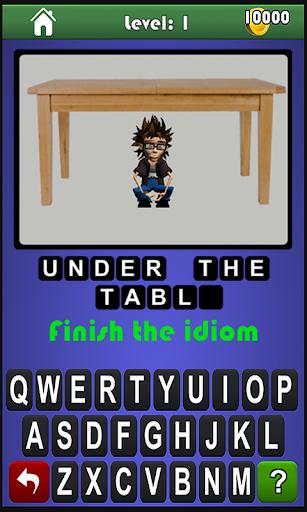 Idiom Man - Word Puzzle Game