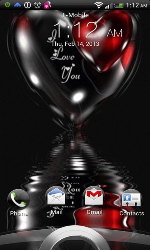I Love You Live Wallpaper Screenshots