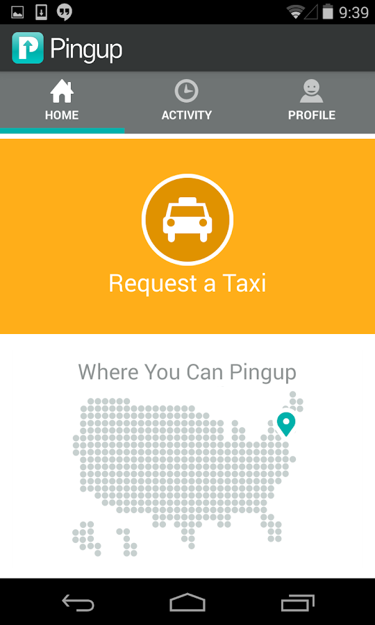 TaxiNow by Pingup - screenshot
