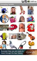 Screenshot of Annoying Sounds
