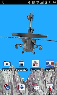 直升機3D世界