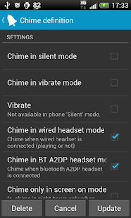 Hourly chime - screenshot thumbnail