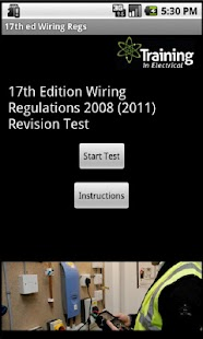 17th ed Wiring Regs 2008(2011) - screenshot thumbnail